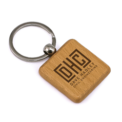 Frontier Square Keyring
