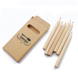 Elementary 6 Pce Coloured Pencil Set