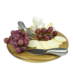 Petite Round Cheese Board  Wooden