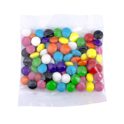 Confectionery 80gm Bag  Rainbow Buttons