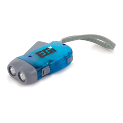 Handy Dynamo Torch  Blue